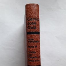 Libros de segunda mano: 1966 - CAMILO JOSÉ CELA: VIAJES POR ESPAÑA - GUADARRAMA - AVILA - JUDÍOS, MOROS Y CRISTIANOS - MAPA. Lote 195523867