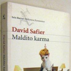 Libros de segunda mano: MALDITO KARMA - DAVID SAFIER. Lote 195543568