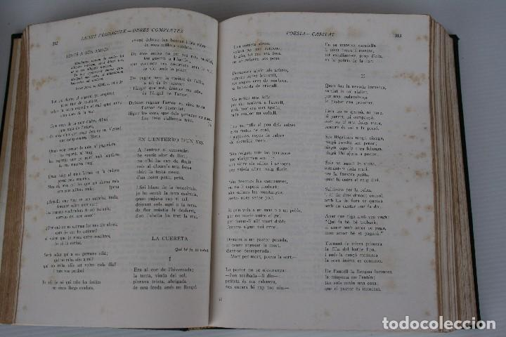 Libros de segunda mano: JACINTO VERDAGUER. OBRES COMPLETES, Biblioteca Selecta, EN CATALAN - Foto 3 - 195572788