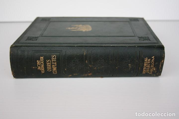Libros de segunda mano: JACINTO VERDAGUER. OBRES COMPLETES, Biblioteca Selecta, EN CATALAN - Foto 8 - 195572788