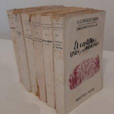 Libros de segunda mano: LOTE 6 LIBROS OBRAS COMPLETAS S. GONZÁLEZ ANAYA. TOMOS III V VI IX XII Y XIII. 1943-50. Lote 195652680