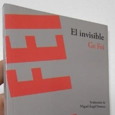 Livres d'occasion: EL INVISIBLE - GE FEI. Lote 196249532