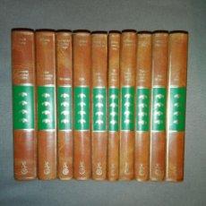 Libros de segunda mano: 10 LIBROS ...OBRAS LITERARIAS DE LA LITERATURA CONTEMPORÁNEA... Lote 197368058