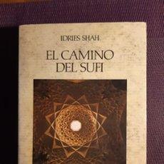Livres d'occasion: EL CAMINO DEL SUFÍ IDRIES SHAH. Lote 197473246