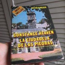 Libros de segunda mano: LA CIUDADELA DE LAS PIEDRAS - HEAVEN, CONSTANCE 1977. Lote 197641625