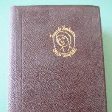 Libros de segunda mano: JUANA DE IBARBOUROU. OBRAS COMPLETAS. AGUILAR. 1968 TERCERA EDICIÓN. Lote 197723243