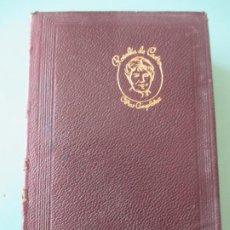 Libros de segunda mano: ROSALIA DE CASTRO. OBRAS COMPLETAS. AGUILAR. 1966. SEXTA EDICIÓN. Lote 197723387