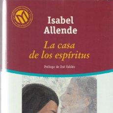 Libros de segunda mano: ISABEL ALLENDE - LA CASA DE LOS ESPÍRITUS - BIBLIOTECA EL MUNDO 2001. Lote 197749707