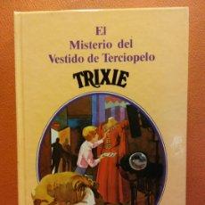 Libri di seconda mano: EL MISTERIO DEL VESTIDO DE TERCIOPELO. TRIXIE BELDEN. KATHRYN KENNY. EDITORIAL SUSAETA. NUEVO. Lote 198080927