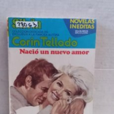 Livres d'occasion: 28063 - NOVELA ROMANTICA - CORIN TELLADO - COL SILVIA - NACIO UN NUEVO AMOR - Nº 396. Lote 243760365