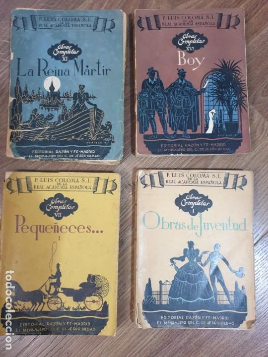 OBRAS COMPLETAS DEL P. LUIS COLOMA (4 TOMOS), (Libros de Segunda Mano (posteriores a 1936) - Literatura - Narrativa - Otros)