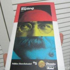 Libros de segunda mano: RUDYARD KIPLING - KIM, COLECCIÓN PREMIOS NOBEL, PUBLICO, 2010. SPAIN.. Lote 198963101