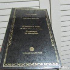 Libros de segunda mano: EL BURLADOR DE SEVILLA - EL CONDENANO POR DESCONFIADO - MOLINA, TIRSO-PRECINTADO. Lote 199340277