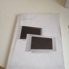 Libros de segunda mano: G-VIK22 LIBRO MANUAL PHILIPS LCD TV . Lote 199911783