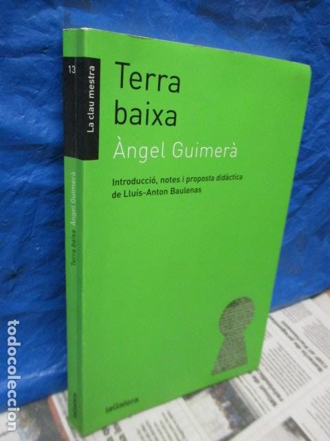 Libros de segunda mano: TERRA BAIXA - ANGEL GUIMERA - Foto 3 - 213445578