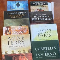 Libros de segunda mano: LOTE DE 11 NOVELAS HISTORICAS. DIVISION AZUL, WWI, ETC... . Lote 200240482
