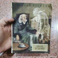 Livros em segunda mão: LIBRO - CARLOS DICKENS - CANCION DE NAVIDAD - NUMERO 42 / 11.145. Lote 200350871