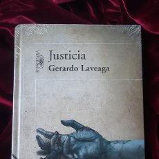 Libros de segunda mano: JUSTICIA - GERARDO LAVEAGA - ALFAGUARA. Lote 200367937