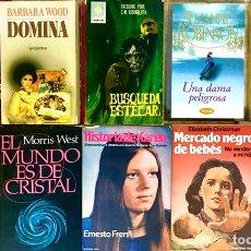 Libros de segunda mano: INCREIBLE COLECCION LOTE DE 30 LIBROS - NOVELAS VARIADAS #3. Lote 200859400