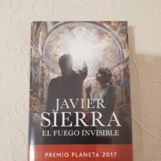 Libros de segunda mano: EL FUEGO INVISIBLE, JAVIER SIERRA, PREMIO PLANETA 2017, CÍRCULO DE LECTORES, NUEVO EN SU ENVOLTORIO. Lote 201222995