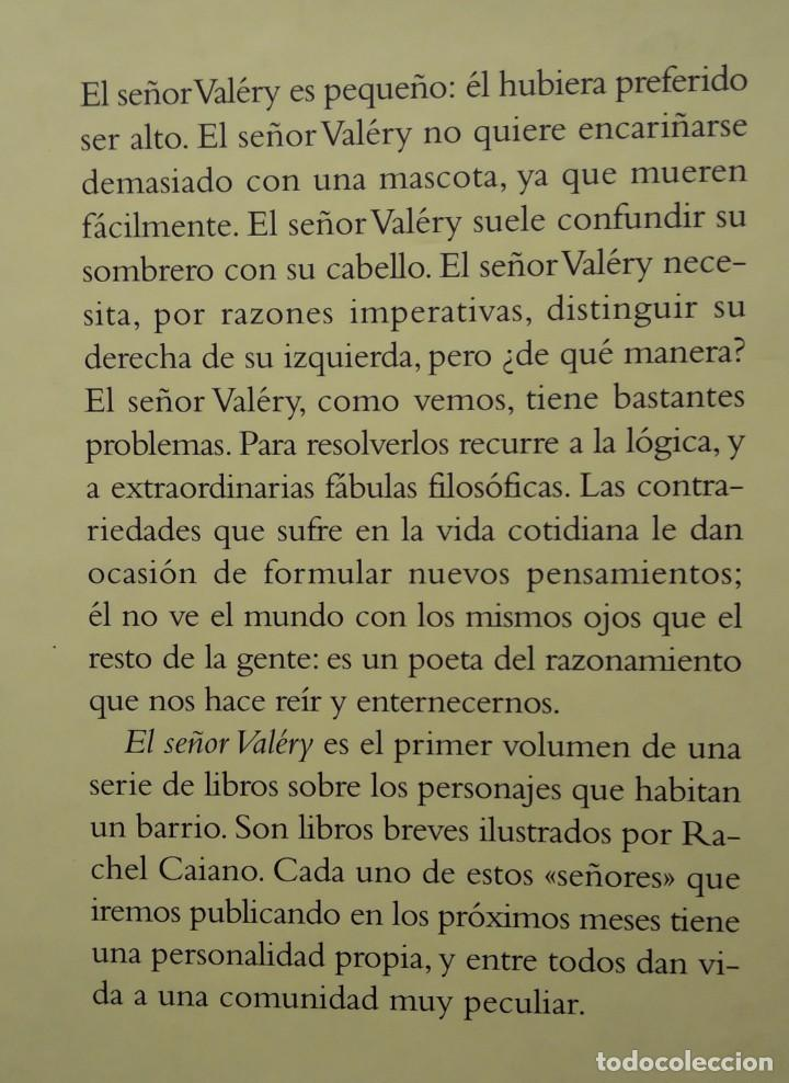 Libros de segunda mano: EL SEÑOR VALERY --- GONÇALO M. TAVARES - Foto 2 - 202078640