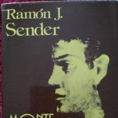 Libros de segunda mano: MONTE ODINA -- RAMÓN J. SENDER. Lote 202080303