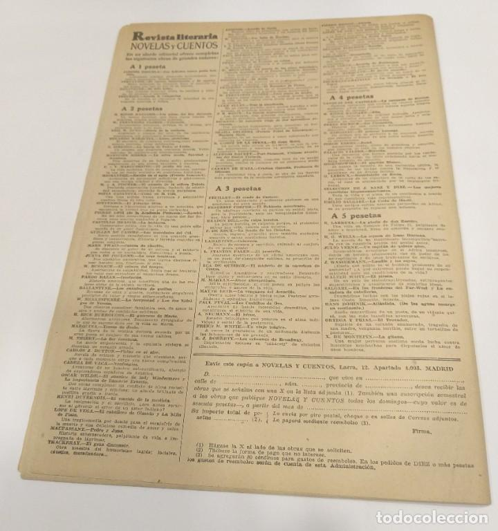Libros de segunda mano: LA INVASIÓN Ó EL LOCO YEGOF ERCKMANN CHATRIAN REVISTA LITERARIA Nº 942 DEL 1949 DISEÑADOR GRÁFICO - Foto 2 - 202311407