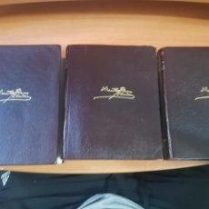 Libros de segunda mano: 1964 - OBRAS COMPLETAS DE VICENTE BLASCO IBAÑEZ - 3 TOMOS. Lote 203177411