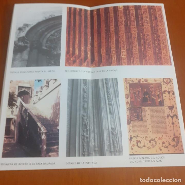 Libros de segunda mano: Folleto Edicion conmemorativa del 5º centenario de la Lonja de Valencia (1483-1983) - Foto 3 - 203230160