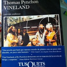 Libros de segunda mano: THOMAS PYNCHON VINELAND. Lote 203301142