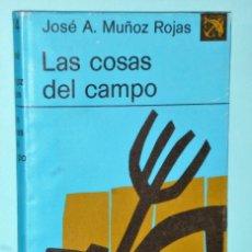 Libros de segunda mano: LAS COSAS DEL CAMPO. Lote 203960467