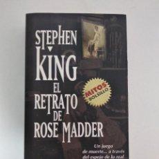 Libros de segunda mano: EL RETRATO DE ROSE MADDER.- STEPHEN KING.- ED. MONDADORI. Lote 204257250