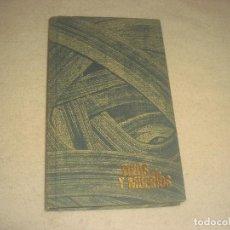 Libros de segunda mano: VIVOS Y MUERTOS.EDUARD PEISSON . ED. ZEUS 1961. Lote 204432110