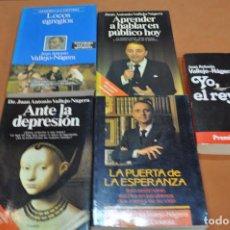 Libros de segunda mano: LOTE 5 LIBROS DE JUAN ANTONIO VALLEJO-NÁGERA -. Lote 204742158