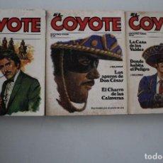 Libros de segunda mano: EL COYOTE 3 NUMEROS. Lote 204769752