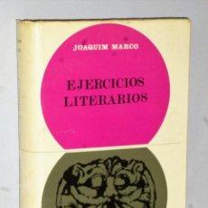Libros de segunda mano: EJERCICIOS LITERARIOS. Lote 205139787