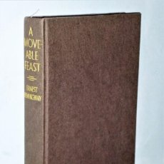 Libros de segunda mano: A MOVEABLE FEAST, BY ERNEST HEMINGWAY. Lote 205346636