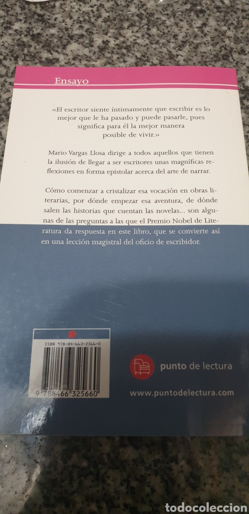 Libros de segunda mano: Cartas a un joven novelista . Mario Vargas Llosa - Foto 2 - 205592107