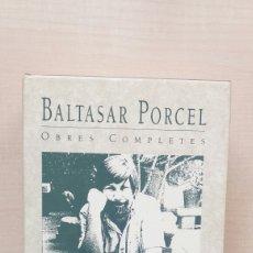 Libros de segunda mano: OBRES COMPLETES BALTASAR PORCEL 3, PUNTS CARDINALS. PROA, PRIMERA EDICIÓN, 1991. CATALÁN.. Lote 205650193