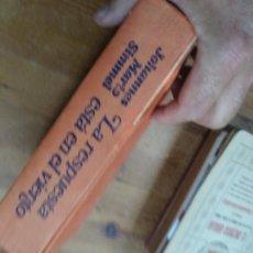 Libros de segunda mano: LA RESPUESTA ESTÁ EN EL VIENTO, JOHANNES MARIO SIMMEL. L.36-348. Lote 205650233