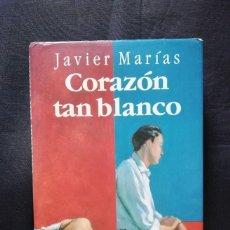 Libros de segunda mano: CORAZÓN TAN BLANCO - JAVIER MARÍAS. Lote 205832528
