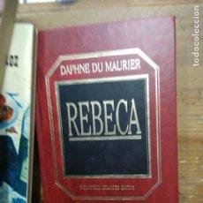 Libri di seconda mano: REBECA, DAPHNE DU MAURIER. L.2604-979. Lote 205899796