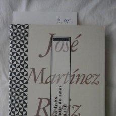 Livres d'occasion: DOÑA INÉS HISTORIA DE AMOR. AZORÍN. EDITORIAL ACENTO. MADRID 1997. Lote 206167406