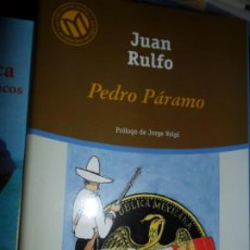 Libros de segunda mano: PEDRO PÁRAMO, JUAN RULFO, ED. EL MUNDO. Lote 206218272