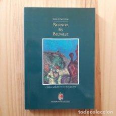 Libros de segunda mano: SILENCIO EN BELVALLE (PREMIO ALFONSO VIII DE NOVELA 2001) - JESÚS DE LAS HERAS. Lote 206236370