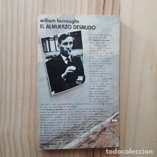 William S BURROUGHS / Almuerzo Desnudo Naked Lunch 1962 | eBay