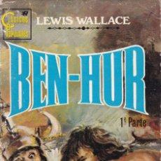 Libros de segunda mano: BEN-HUR - LEWIS WALLACE - EDITORIAL ROLLÁN 1973 / 1ª EDICION. Lote 206255920