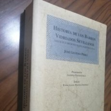 Libros de segunda mano: HISTORIA DE LOS BARROS VIDRIADOS SEVILLANOS. JOSE GESTOSO PEREZ. EDICION FACSIMIL. BUEN ESTADO. Lote 206404968