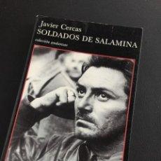 Livros em segunda mão: JAVIER CERCAS - SOLDADOS DE SALAMINA. Lote 206452243