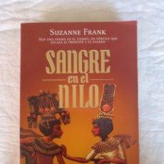 Libros de segunda mano: SANGRE EN EL NILO. SUZANNE FRANK. VOLUMEN 513/1. DE BOLSILLO, 2003. LIBRO. Lote 206463572